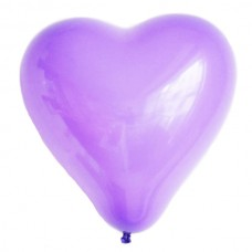 Heart-Shape-Atex-Malaysia-Party-Balloon-Lavender