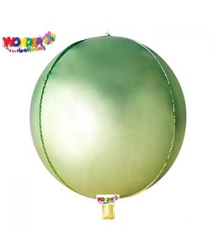 """22"""" OMBRE Foil ORBZ 4D Balloons - 027"""