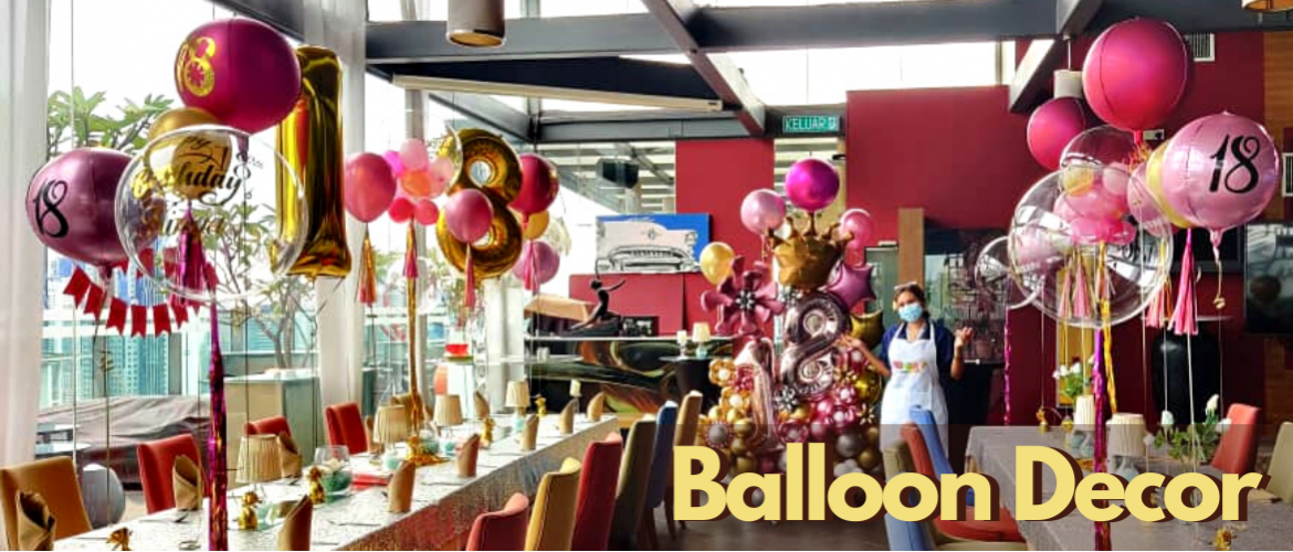 Customized and Personalized Balloon Printing Service in Malaysia