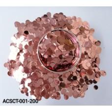 10gm-Round-Clear-Bubble-Balloon-Foil-Confetti-RoseGold
