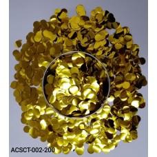10gm-Round-Clear-Bubble-Balloon-Foil-Confetti-Gold