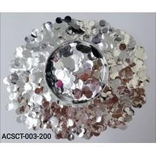 10gm-Round-Clear-Bubble-Balloon-Foil-Confetti-Silver