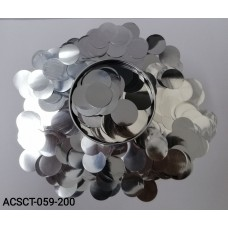 10gm-Round-Clear-Bubble-Balloons-Foil-Confetti-Sprinkles-Silver