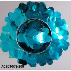 10gm-Round-Clear-Bubble-Balloon-Foil-Confetti-Sprinkles-Glitter-Blue
