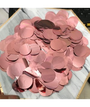 10gm-Round-Table-Clear-Bubble-Belon-Foil-Confetti-Sprinkles-RoseGold