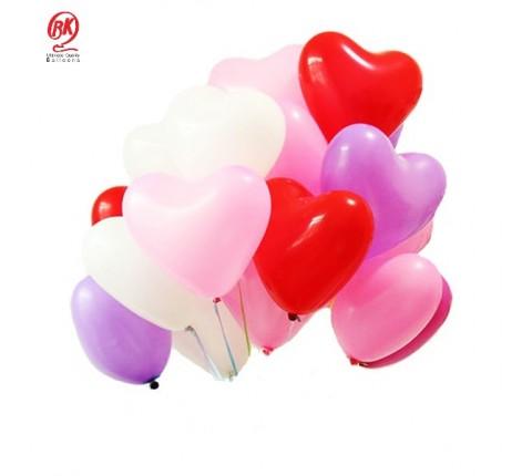"""12"""" Heart Balloons"""