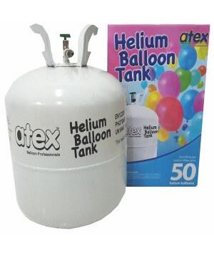 Helium Balloon Disposable Tank