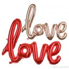 Love Foil Banner