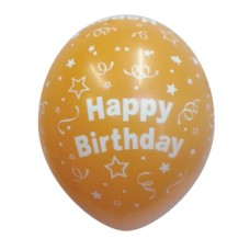 Orange-Round-Happy-Birthday-Balloon