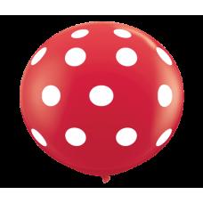 Red-Round-Polka-Dots-Balloon