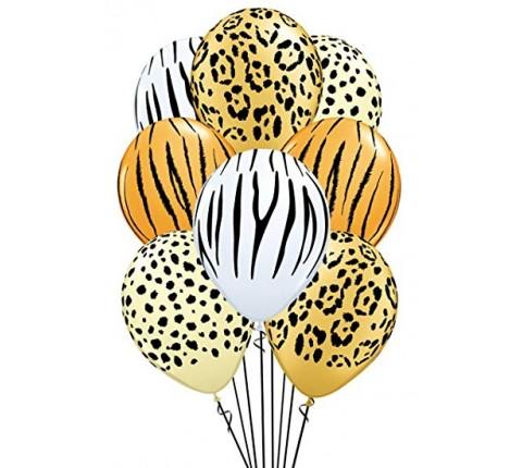 Safari Latex Balloons