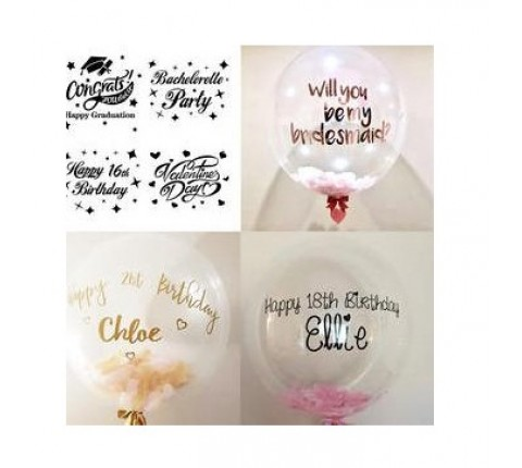 Balloon Stickers